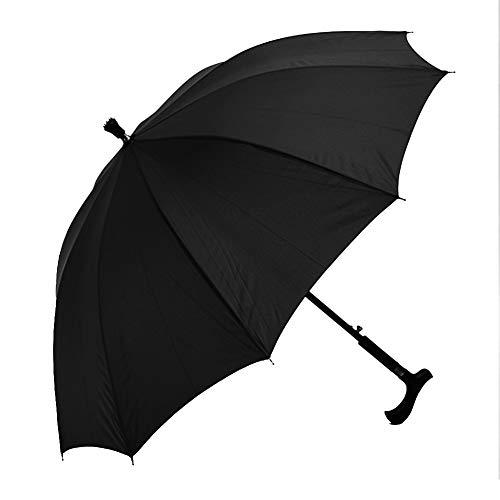 Profusion Circle - Bastón de escalada y senderismo, resistente al viento, protección contra los rayos UV, color negro
