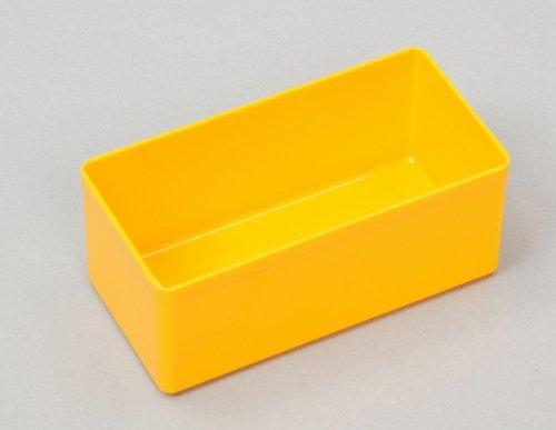 Allit Kunststoff Box gelb 54x110x45mm - 10 Stück Einsatzboxen