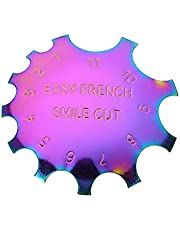 French Smile Line Cutter Tool Nagelrandtrimmer Edge Smile Trimmer voor nageldesign