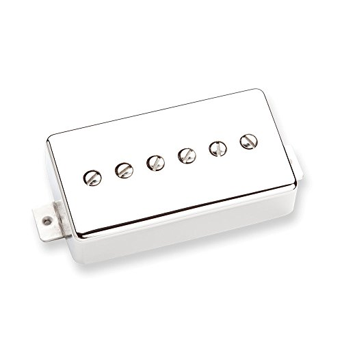 Seymour Duncan SPH90-1B-N Humbucker P90 Serie Phat Cat Silver Tonabnehmer für elektrische Gitarre