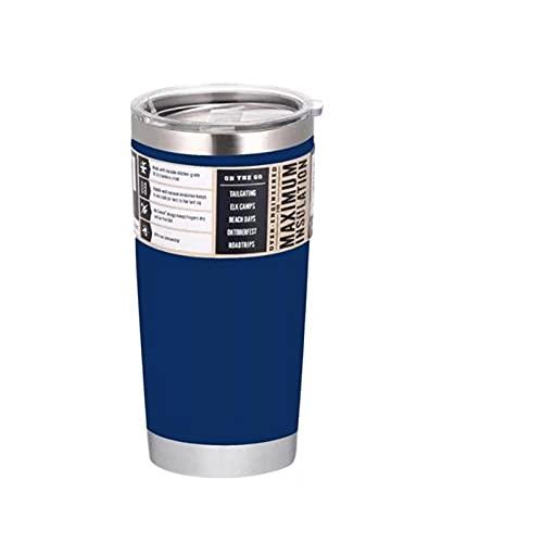 XYAN Taza Termo del Coche Frascos de vacío de Acero Inoxidable Aislamiento Termoto Botella Botella Frío o Caliente Cerveza a Prueba de Fugas al Aire Libre Taza de café (Capacity : 20oz, Color : N)