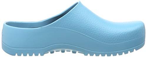 Birki Super PU, Zuecos Mujer, Azul, 37