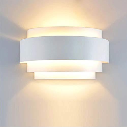 Lámpara De Pared Moderna LED Up Down, Aplique De Pared De Hierro Forjado De Estilo Nórdico Lámpara De Pasillo De Pasillo Creativo, Fuente De Luz E27