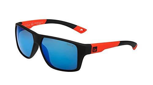 bollé Unisex– Erwachsene Brecken Floatable Sonnenbrillen Large, Black Red Matte