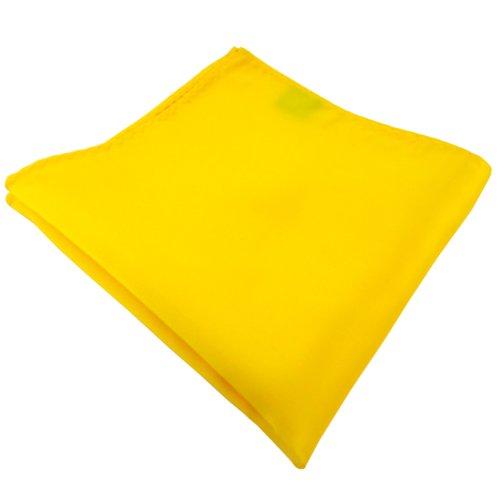 ohne Markenname TigerTie fazzoletto - giallo traffico giallo brillante monocromatico - Pochette 100% poliestere