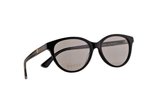 Gucci GG0379O Brillen 52-16-140 Schwarz Mit Demonstrationsgläsern 001 GG 0379O