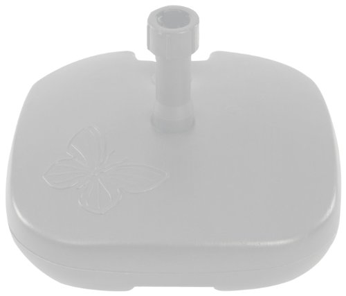 Camelot Blanco Papillon – Base Sombrilla de Resina Color Blanco
