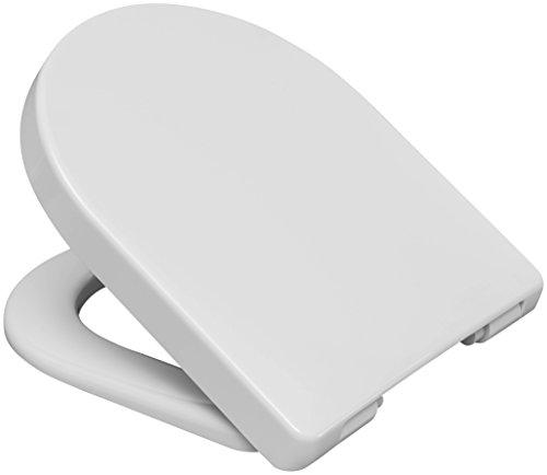 Hamberger 531331 WC-Sitz Bacan SoftClose, mit Edelstahl-Steckscharnier C2802H weiß