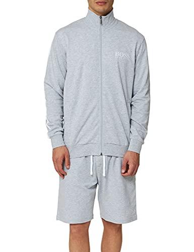 BOSS Authentic Jacket Z Chaqueta con Cremallera, Medium Grey32, M para Hombre