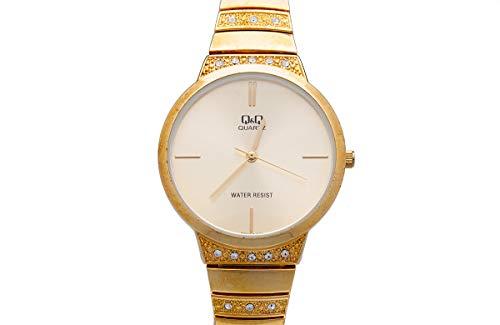 Q&Q Reloj de mujer moda F553J010Y estándar analógico movimiento de cuarzo japonés