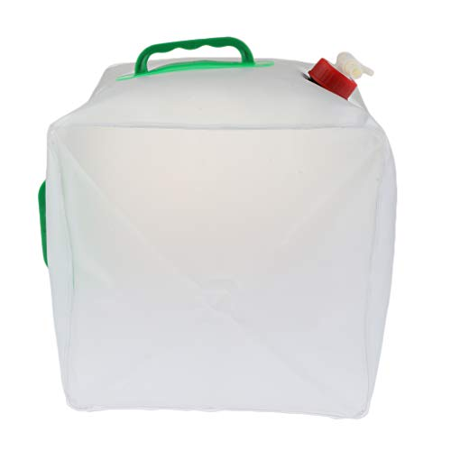 Homyl Seau Extérieur Portatif de Stockage de l'eau Récipient d'eau Pliable de 20L