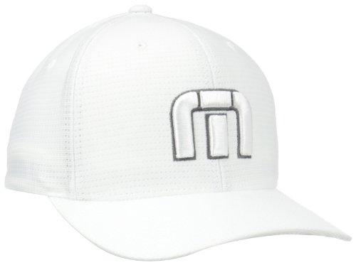 TravisMathew Boys B-Bahamas Golf Cap, White, X-Small