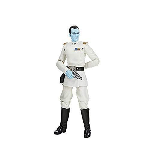Star Wars The Black Series Archive Grand Admiral Thrawn Spielzeug, 15 cm große Star Wars Rebels Sammelfigur, Spielzeug für Kinder ab 4 Jahren