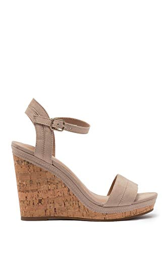Call It Spring Womens ACAVIEL Fabric Open Toe Casual