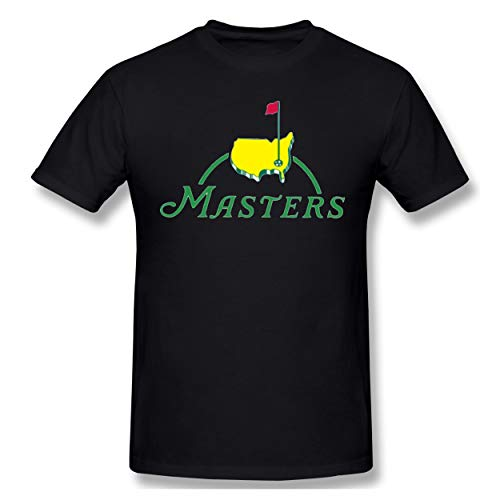 Masters Tournament Augusta National Golf Any Color Mans T-Shirt Street Black