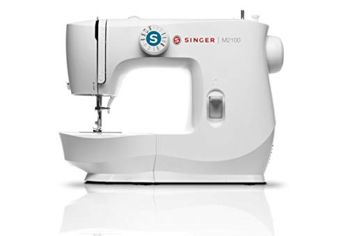 SINGER | M2100 Sewing Machine with 63 Stitch Applications, & Easy Stitch Selection - Perfect for Beginners - Sewing Made Easy