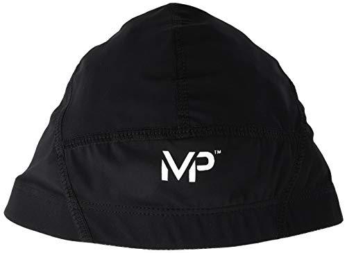 MP Michael Phelps Compression, Cuffia da Piscina Unisex, Black, L