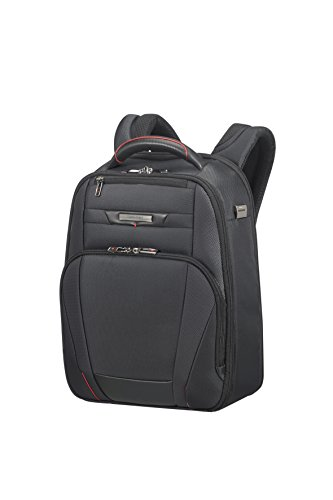"Samsonite PRO-DLX 5 - Backpack for 14.1"" Laptop 1.2 KG Mochila tipo casual, 42 cm, 14 liters, Negro (Black)"