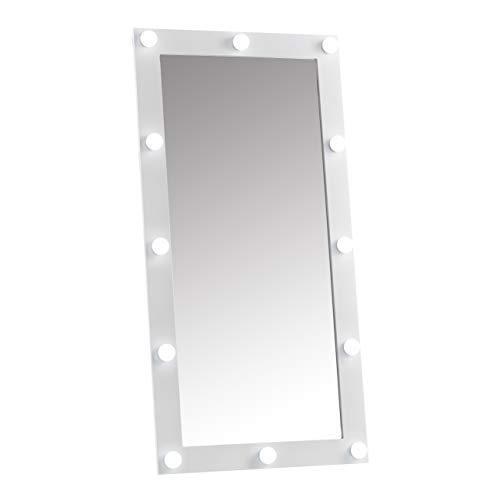 Espejos De Pie Para Dormitorio Con Luces espejos de pie  Marca CARME