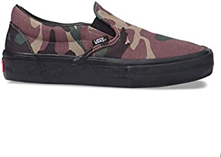 Vans Slip-On Pro Sneakers (NV/STV/NV) Men's Classic Suede Skateboarding Shoes