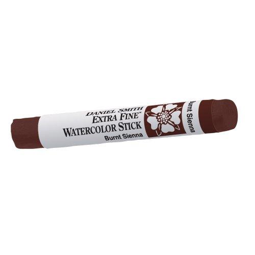DANIEL SMITH Extra Fine Watercolor Stick 12ml Paint Tube, Burnt Sienna (Model: 284670009)