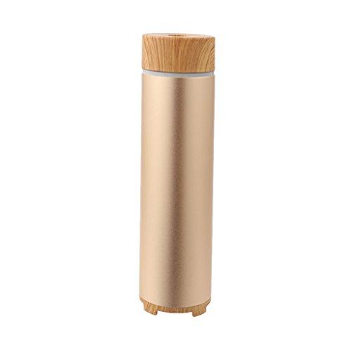 MagiDeal Mini USB Aroma Humidificador Aire Difusor SPA Aromaterapia Fresco Coche Hogar - Oro