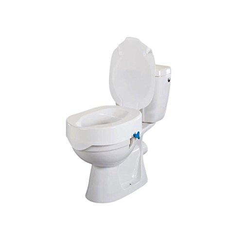Rehotec Toilettensitzerhöhung mit Deckel 15 cm