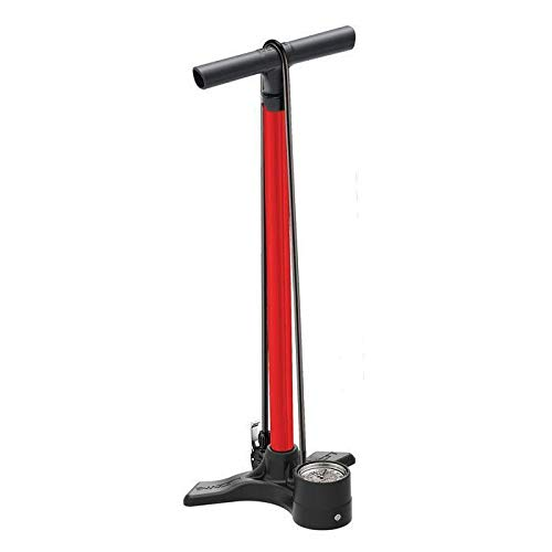 LEZYNE Macro Floor Drive Pompe à Pied vélo/VTT Mixte Adulte, Red, FR Unique Fabricant : Taille One sizeque