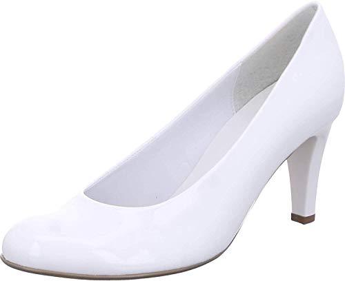 Gabor Shoes Damen Basic Pumps, Weiß (Weiss (+Absatz) 71), 40 EU