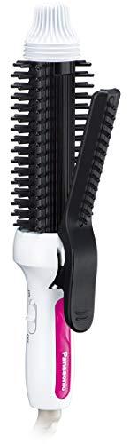 Panasonic Compact curl Brush Hair Iron 26mm Overseas Correspondence Exchange Type White EH-HT48-W 1 Unit