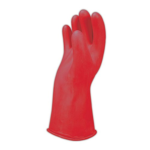 "Salisbury by Honeywell E0011 11"" Class 00 Linemen's Electrical Gloves, 10"