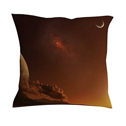 Starry Sky Luxe zachte vierkante kussenslopen met ritssluiting voor slaapbank elegante stijl Starry Sky