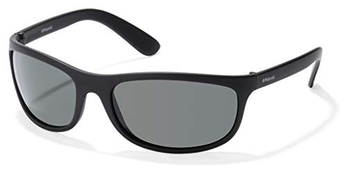 Polaroid P7334 RC 9CA Gafas de sol, Negro (Black/Green Polarized), 63 Unisex Adulto