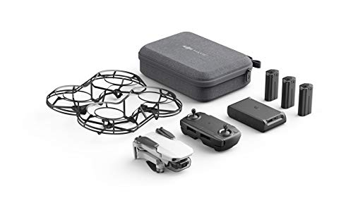 DJI Mavic Mini Combo - Drone FlyCam Quadcopter UAV with 2.7K Camera 3-Axis Gimbal GPS 30min Flight Time, less than 0.55lbs, Gray