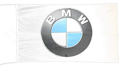 Cyn Flags B-M-W Fahne Flagge 3D 2.5x5 ft 150 x 75 cm