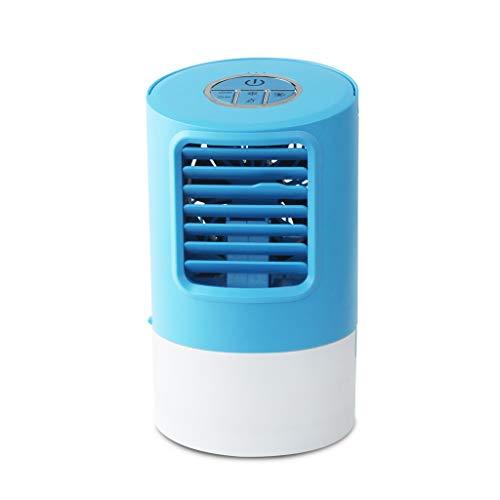 SHE.White Tragbar Luft Conditioner Ventilator Mini Verdampfung Luft Zirkulator Kühler Luftbefeuchter sehr leiser Betrieb für Zuhause, Büro und Camping