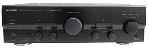 Kenwood KA- 4050 R Stereo Verstärker in schwarz - MOS FET Drive