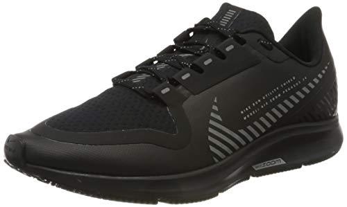 Nike AIR Zoom Pegasus 36 Shield, Chaussures de Running Homme, Nero Black Black MTLC Silver 001, 43 EU