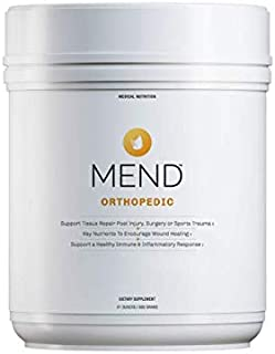 MEND Orthopedic Nutrition for Injury or Surgery Recovery, Citrus Flavor, 30 Servings, All Natural, Gluten Free, Non-GMO