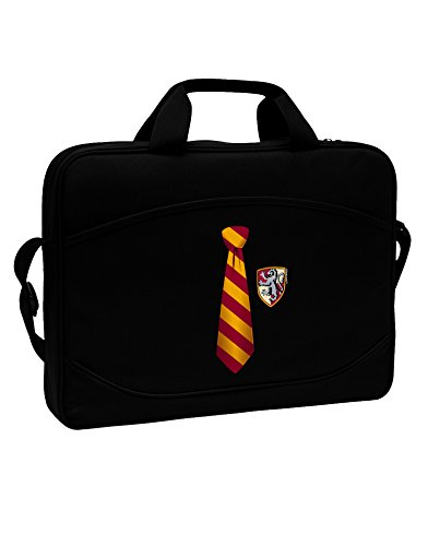 TooLoud Wizard Tie Red and Yellow 15' Dark Laptop/Tablet Case Bag