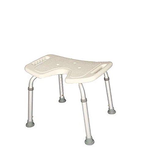 Guo Shop- Vieilles chaises Femme de bain enceintes et tabourets Accoudoir Bath Stool anti-dérapant Hauteur ajustable Salle de bain Tabourets