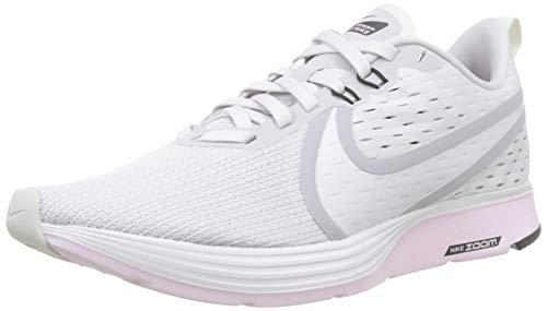 Nike Herren WMNS Zoom Strike 2 Leichtathletikschuhe, Mehrfarbig (Vast Grey/Platinum Tint/Pink Foam/Black 013), Large EU