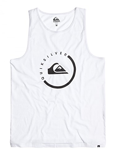 Quiksilver Everyday - Débardeur - Sans manche - Homme - Blanc - Small (Taille fabricant: Small)