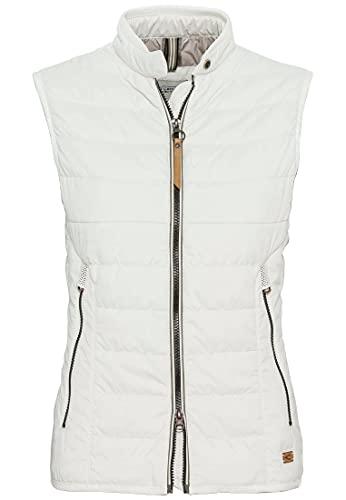 Camel Active Womenswear Damen 3608105R48 Weste, Weiß, 40