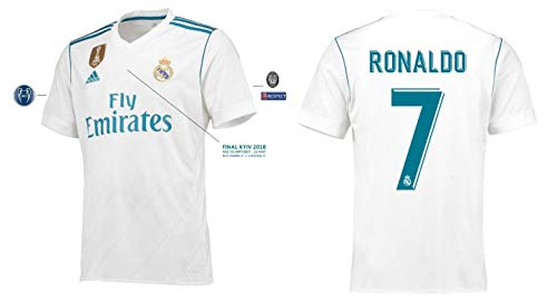 Real Madrid Trikot Herren Home UCL Final Kyiv 2018 - Ronaldo 7 (L)