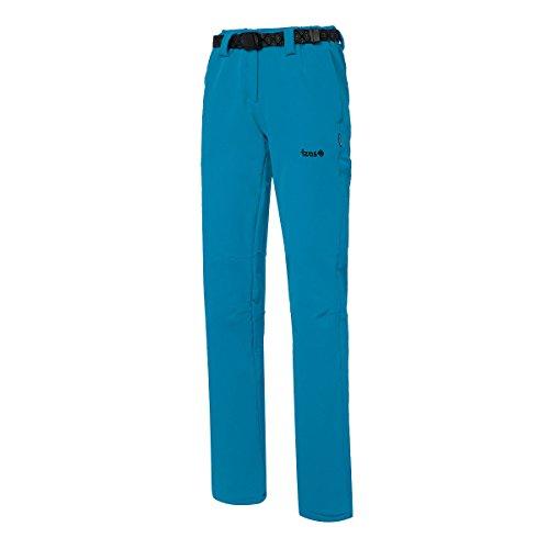 IZAS Kitzbuhel Pantalon de Trekking Femme, Turquoise, FR (Taille Fabricant : XL)