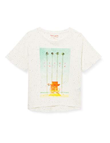 Teddy Smith T-NEPSY MC JR T-Shirt, Unique, 12 Ans Girls