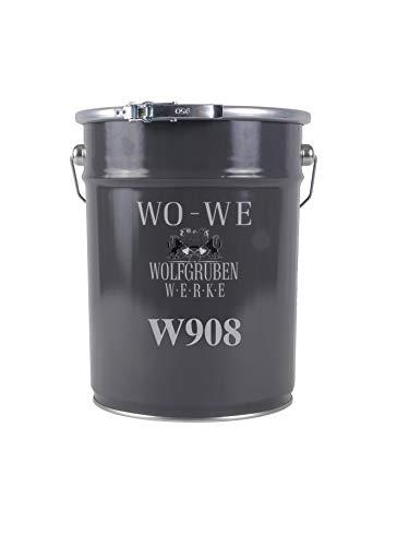 Vernice antiruggine per metallo ferro 3in1 primer rivestimento finitura W908 Grigio antracite - 5L