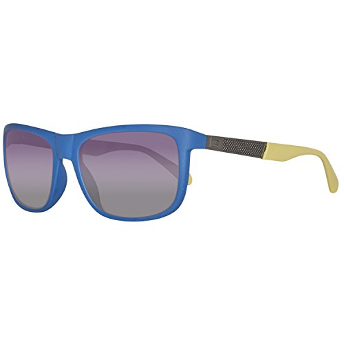 Guess Sonnenbrille GU6843 5791B Gafas de sol, Azul (Blau), 57 para Hombre