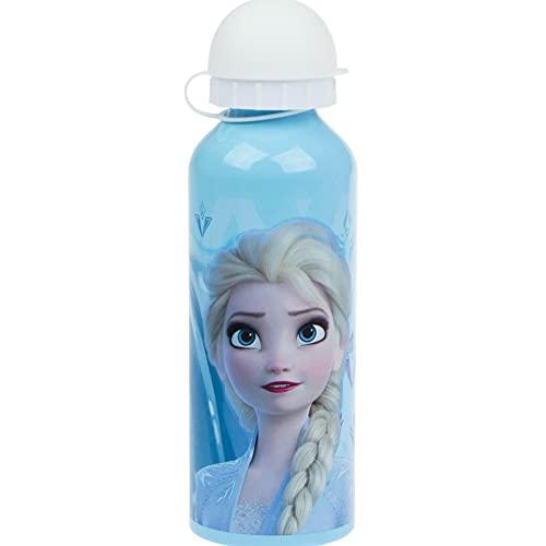 Bottiglie di alluminio per adulti misti Frozen, multicolore, 500 ml
